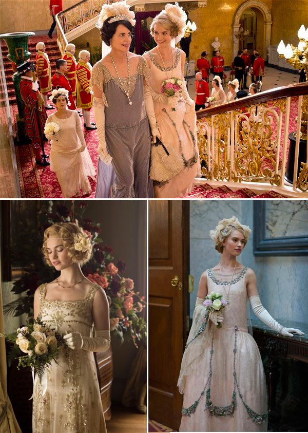 lily-james-vestidos-downton-abbey