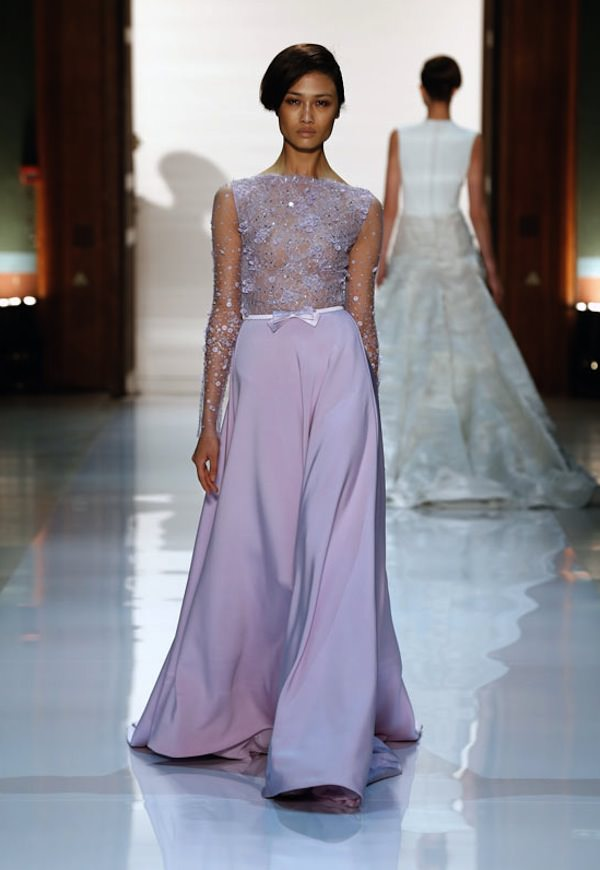 Transparent-Evening-Dress-Lilac-2014-Georges-Hobeika