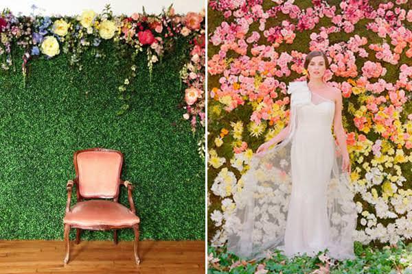 backdrop flores pata fotos na festa 15 anos