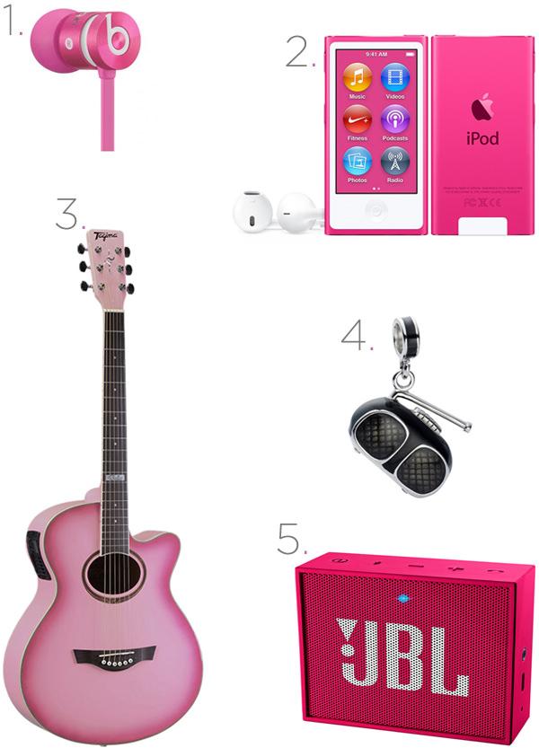 Opções de presentes para meninas que adoram música