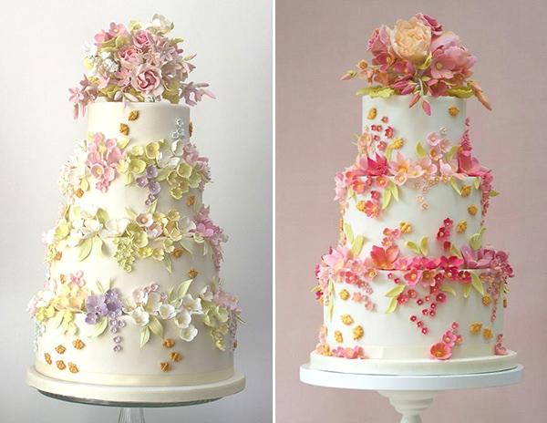14 ideias de bolo com o tema jardim encantado  Constance Zahn