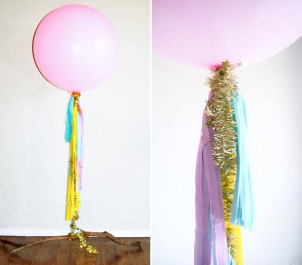 DIY balões, Festa 15 anos, Dourado, Rosa