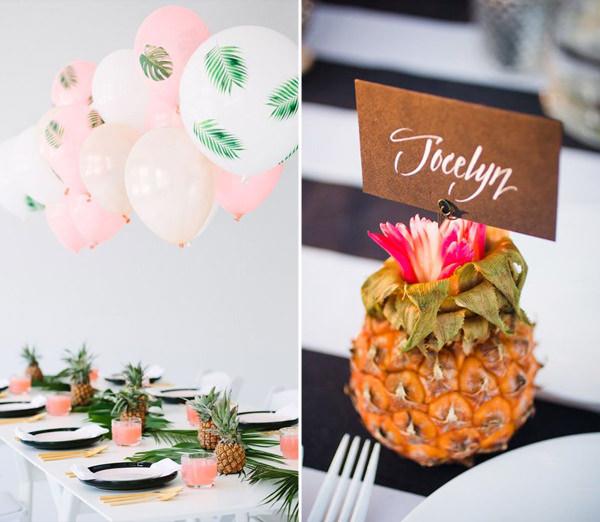 decoracao-com-abacaxis-festa-15-anos-2