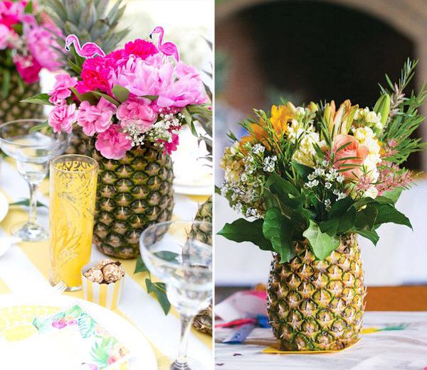 decoracao-com-abacaxis-festa-15-anos-4