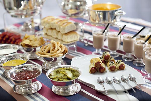 Estações gastronomicas, Ilhas gastronomicas, Festa de 15 anos