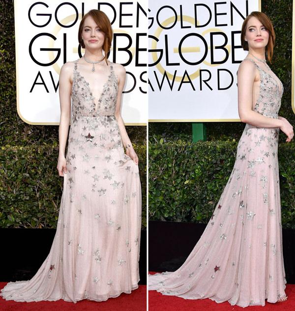 Vestidos, Golden Globes 2017, Fest